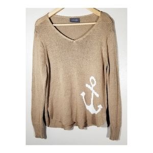 Wooden Ships▪︎Anchors Sweater